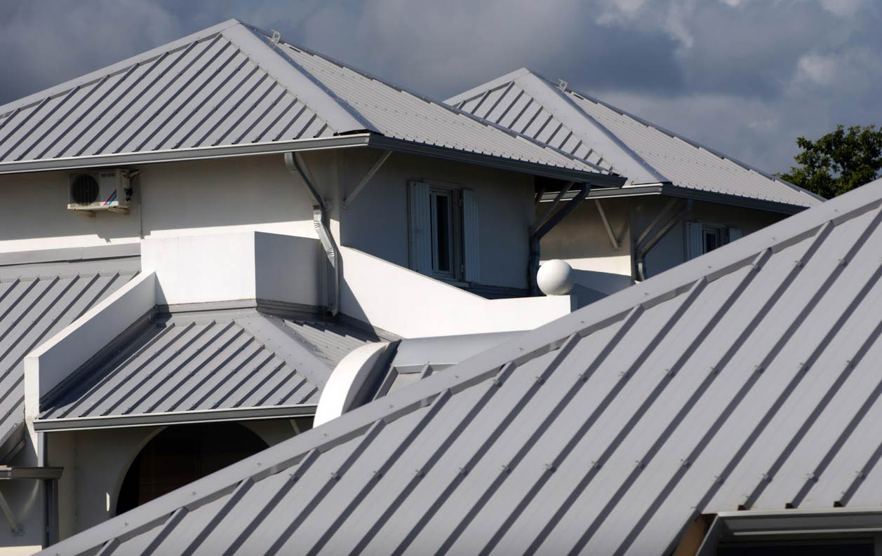 Colorbond Gutter match Roof