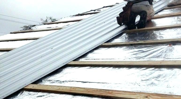 Steps on re-roofing