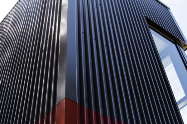 Tall building with Colorbond materials
