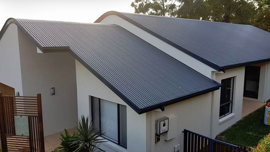 Stylish new Colorbond roof